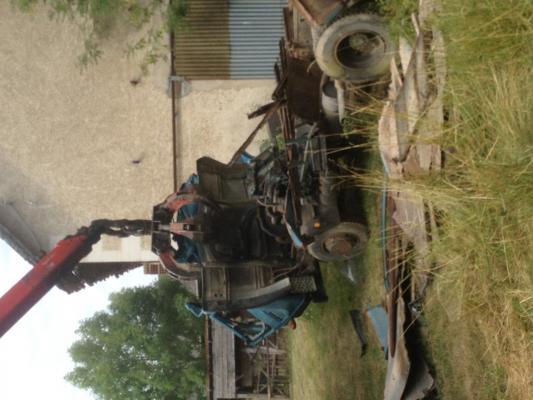enlevement debarras epave vehicule agricole